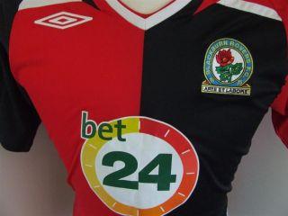 Trikot Blackburn Rovers 2007/08 (S) Away Umbro Jersey Camiseta Maglia