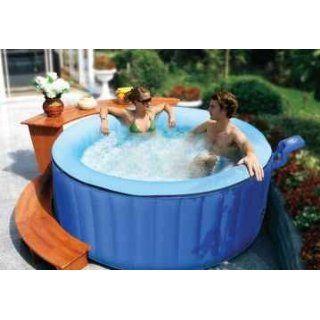 Xxl Jacuzzi Whirlpool Umrandung Polyrattan Pool Rahmen Verkleidung