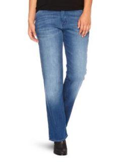Wrangler Damen Jeans Normaler Bund, W212ZA33M Bekleidung