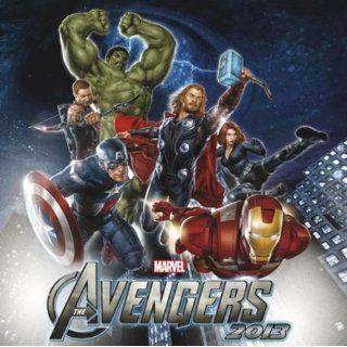 Kalender 2013 The Avengers Marvel Avenger Broschürenkalender 30 x 30