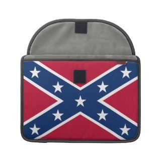 Southern Confederate Flag 13 Macbook Sleeve MacBook Pro Sleeve
