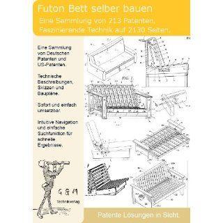 Futon, Futonbett selber bauen 213 Patente zeigen wie es geht!