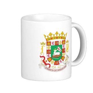 Puerto Rico Coat of Arms detail Coffee Mug