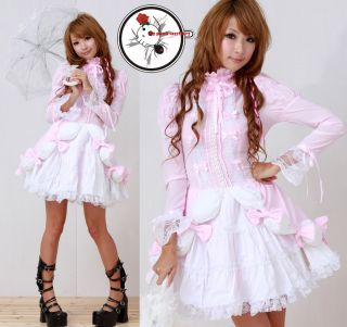 Japan EGL Gothic Lolita Puff Lover ALICE Baby Emo Dress