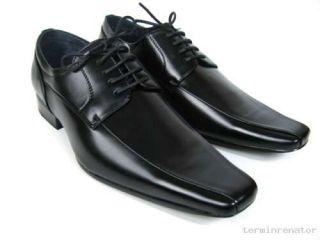 Herren Halbschuhe Business Schuhe Schnürschuhe schwarz
