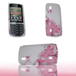 Case Cover für Nokia Asha 300 / Design 05 Handytasche Hülle