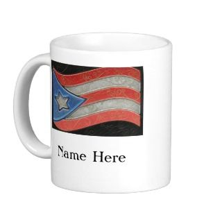 Flags  Puerto Rico Mug