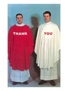 Thank You, Large Altar Boys Prints