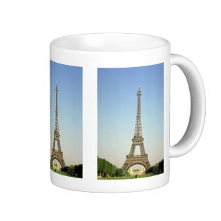 Eiffel Tower, Paris, France Mugs