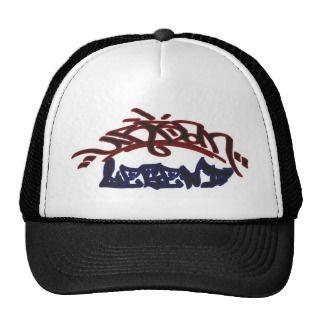 urban legend graffiti design trucker hat