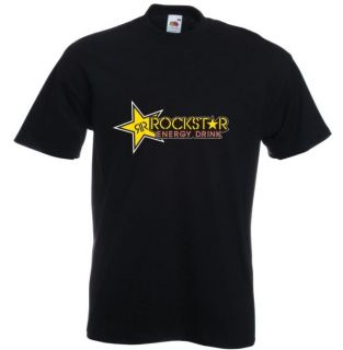 Rockstar Energy t shirt S XXL NEU MX Moto Cross 9
