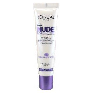 Oreal Nude Magique BB Cream SPF 12 For Medium Skin Tone: