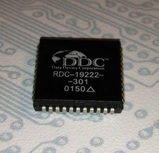 RDC 19222 301   16 Bit Synchro Resolver to Digital Converter   PLCC44