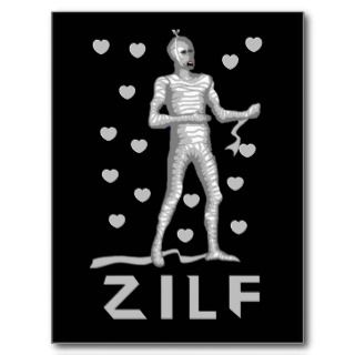Zilf Zombie Post Cards