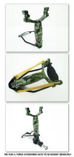 PIRATE Catapult Slingshot with Armrest Camouflage Color