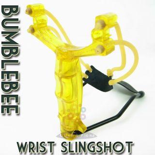 """Daspletosaurus Slingshot Longer Handle Pro Catapult 5.9"""" Shot"""