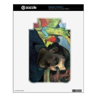 Eugène Henri Paul Gauguin   Self Portrait with Yel Skin For Kindle 3