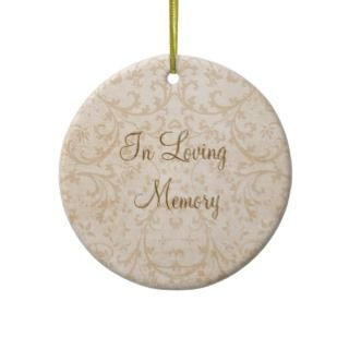 In Loving Memory Snowflake Personalized Photo Christmas Ornament