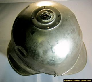 Pickelhaube Metall Korpus Spike helmet ww1 wwI Armee vintage alt