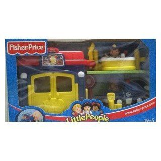 Fisher Price Little People Polizei Station und Polizeiwagen C6284