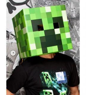 Minecraft Creeper Head Cardboard Costume Mask *New*