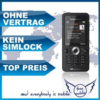 Sony Ericsson W302 midnight black W 302 schwarz ** NEU&OVP