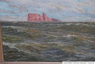 Patrick v. KALCKREUTH Meereswogen vor Helgoland