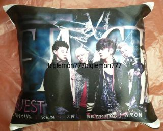 NUEST BOY Band Photo Cushion Pillow Cover /Pillowcase Satin Q1
