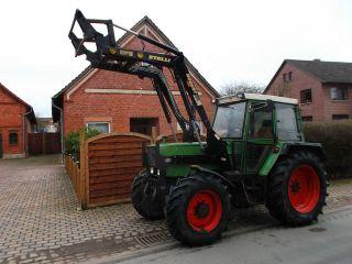 Fendt Farmer 308 LSA mit Frontlader , Allrad