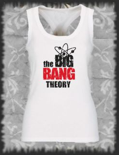 Retro, Racerback The Big Bang Theory II Rock Pop, Vintage distressed