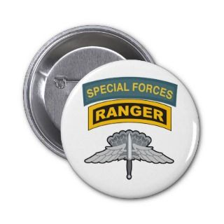 HALO Wings Special Forces/Ranger Tabs Pins