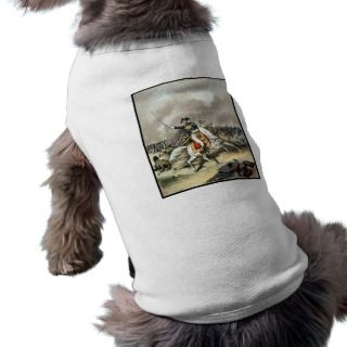Andrew Jackson At The Battle Of New Orleans Dog Tee Shirt