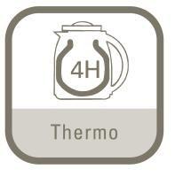 Rowenta CT 273 Kaffeeautomat Milano therm line schwarz/Edelstahl matt