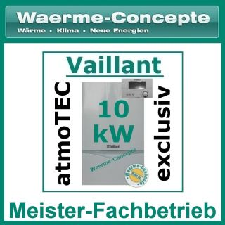 Vaillant atmoTEC exclusiv VC 104/4 7 10 kW Gas Therme Gastherme
