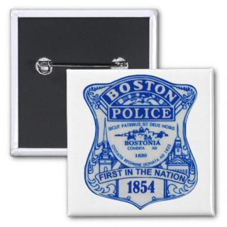 BOSTON MASSACHUSETTS POLICE BADGE PINS