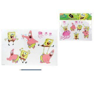 Spongebob Schwammkopf 16 grosse Wandsticker   Wandaufkleber   Patrick
