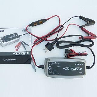 CTEK Batterieladegerät MXS7 CTEK MXS 7 für AGM GEL XS7000 Batterie