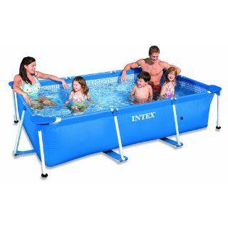 Intex Frame Pool Family I 260 x 160 x 65 cm, ohne Filterpumpe, 58980