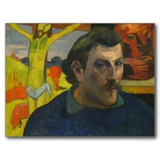 Paul Gauguin Self Portrait 3 Postcard