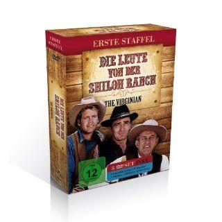 Die Leute von der Shiloh Ranch   Staffel 1 The Virginian 8 DVDs