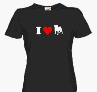 LOVE MOPS Girlie Shirt S L Sport & Freizeit