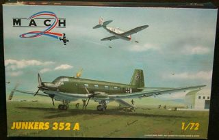 72 Mach 2 JUNKERS JU 352 German WWII Transport