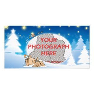 Christmas Scene Photo Cards, Christmas Scene Photo Card Templates
