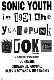 1991 The Year Punk Broke Masterprint