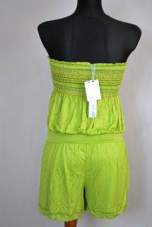 sexy Jumpsuit,Overall,shorts,Grün,Bandeau lässig,Playsuit,Vintage