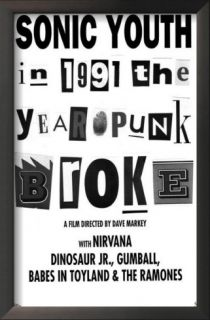 1991 The Year Punk Broke Posters