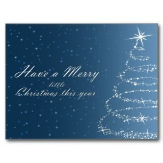 Merry Little Christmas Post Cards