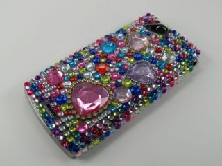 Sony Ericsson Xperia Arc Arc S Strass Schutz Hülle Cover Case Rosa