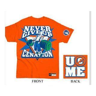 Original WWE Shirt John Cena  Never give up  Gr. L T Shirt
