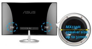 Asus MX279H 68,6 cm (27 Zoll) widescreen TFT Monitor (LED, VGA, HDMI